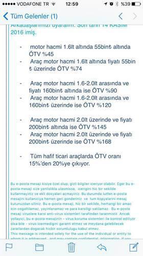 Merakla beklenen yeni ÖTV düzenlemesi sızdırıldı mı?