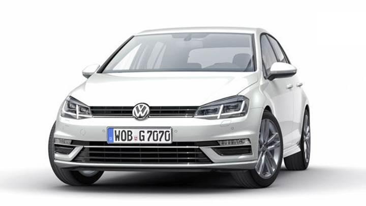 Makyajlanan yeni Volkswagen Golf, 10 Kasım'da tanıtılacak