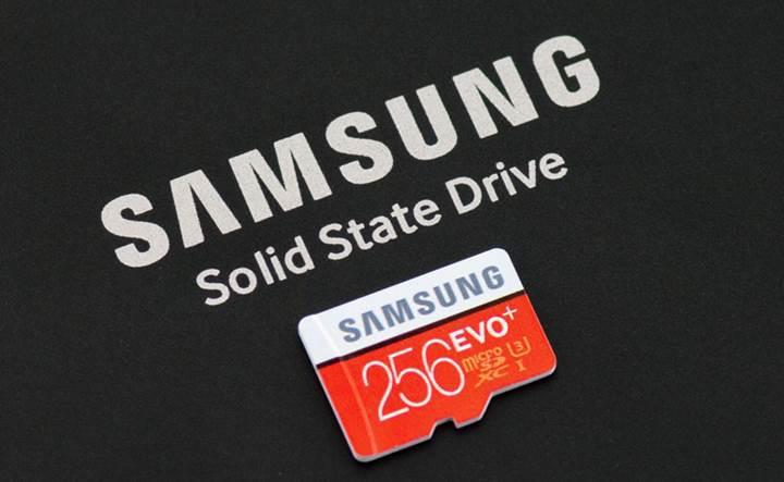 Samsung, EVO Plus 256GB MicroSD bellek kartı Türkiye'de satışta