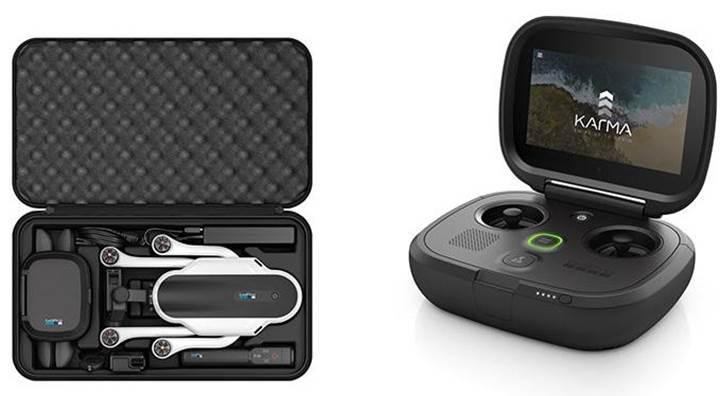 GoPro büyük umutlarla piyasaya sürdüğü Karma drone'u geri çağırıyor