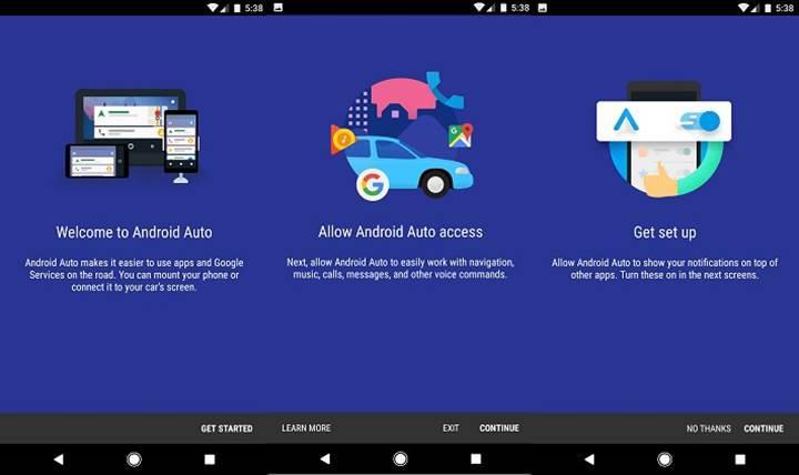 Android Auto bağımsız bir uygulama haline geliyor