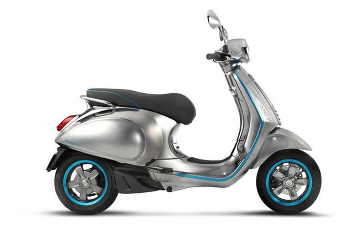 Vespa ilk elektrikli scooter'ı 'Elettrica'yı görücüye çıkardı