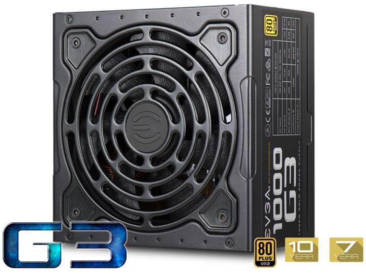 EVGA SuperNOVA G3: Küçük sistemlere büyük güç