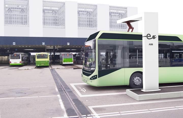 Volvo elektrikli otobüslerinde OppCharge arayüzünü kullanmaya başladı