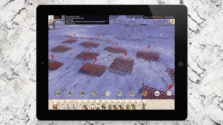 ROME: Total War iPad'e geldi çok yakında Android'de!