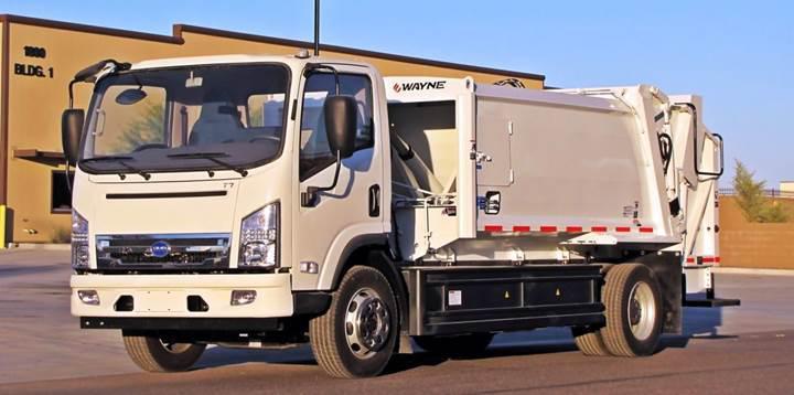 Tamamen elektrikle çalışan çöp kamyonları geliyor