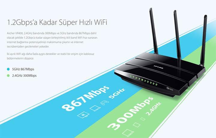 TP-Link, akıllı telefondan yönetilebilen yeni VDSL modemi 'Archer VR400'ü tanıttı