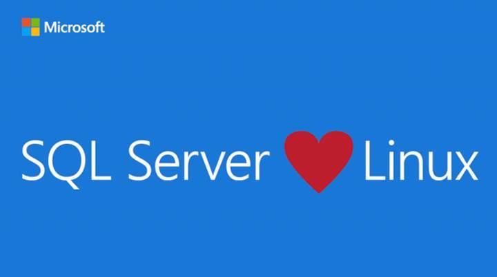 SQL Server, Linux'a geldi