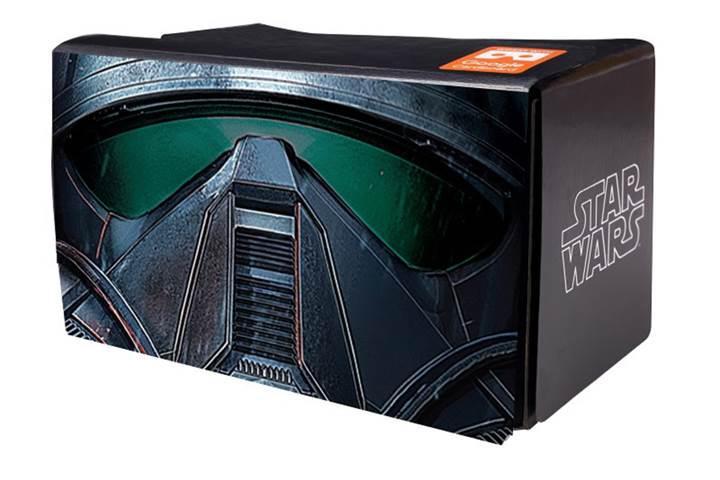 Google'dan Star Wars temalı Cardboard