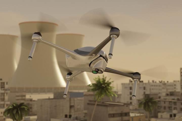Patlayıcıları uzaktan tespit eden Drone sistemi geliştirildi