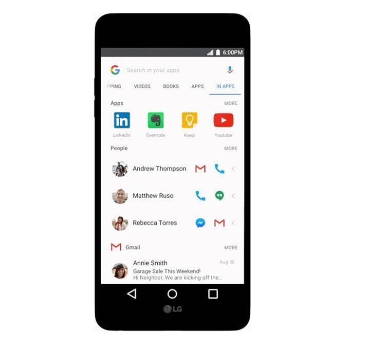 Google uygulaması, Android'de kişisel verileri görmeye başlayacak