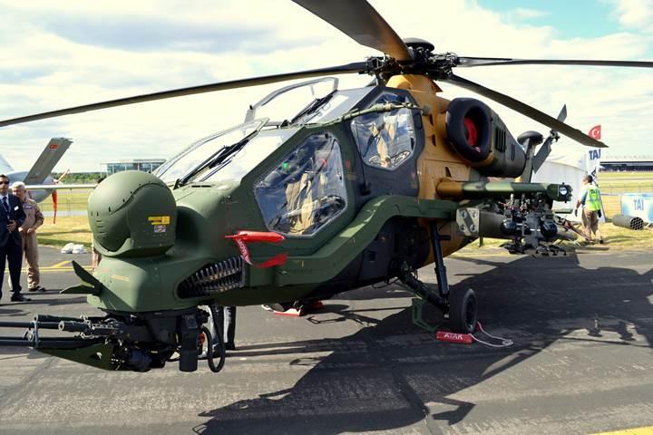 ATAK helikopteri UMTAS füzesiyle güçleniyor