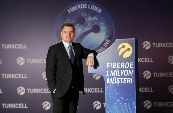 Turkcell, tüm fiber abonelerinin hızını Aralık ayında 100 Mbps'e yükseltiyor