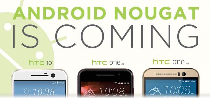 HTC 10 bugün itibariyle Android 7.0 Nougat güncellemesi almaya başladı
