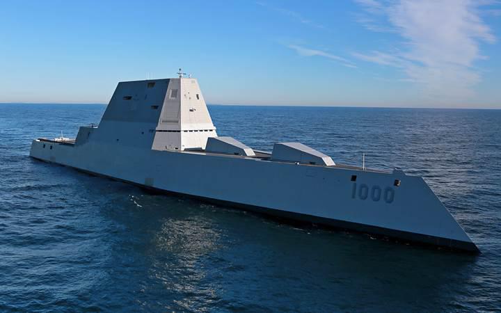ABD donanmasının 4 milyar dolarlık yeni destroyeri yine bozuldu