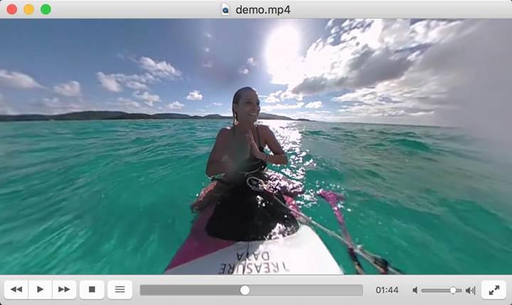 VLC artık 360 derece video oynatma desteğine sahip