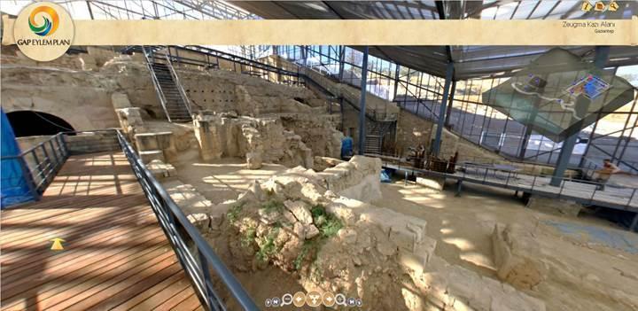 Gaziantep Zeugma Mozaik Müzesi artık sanal ortamda