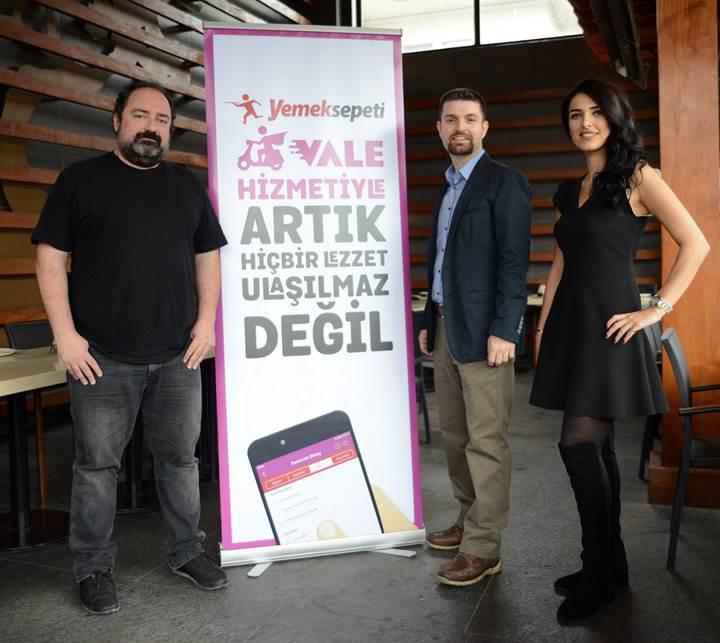 Yemeksepeti'nden restoranları ayağınıza getiren yeni girişim: Vale