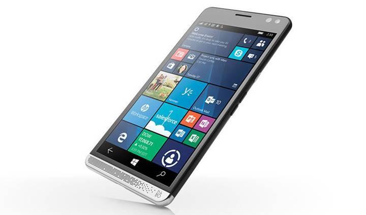 HP, orta seviye bir Windows 10 mobil telefonu hazırlıyor