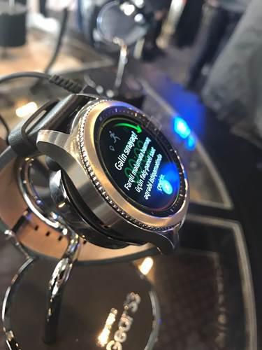 Samsung Gear S3 Türkiye'de! İşte fiyatı ve diğer detaylar: