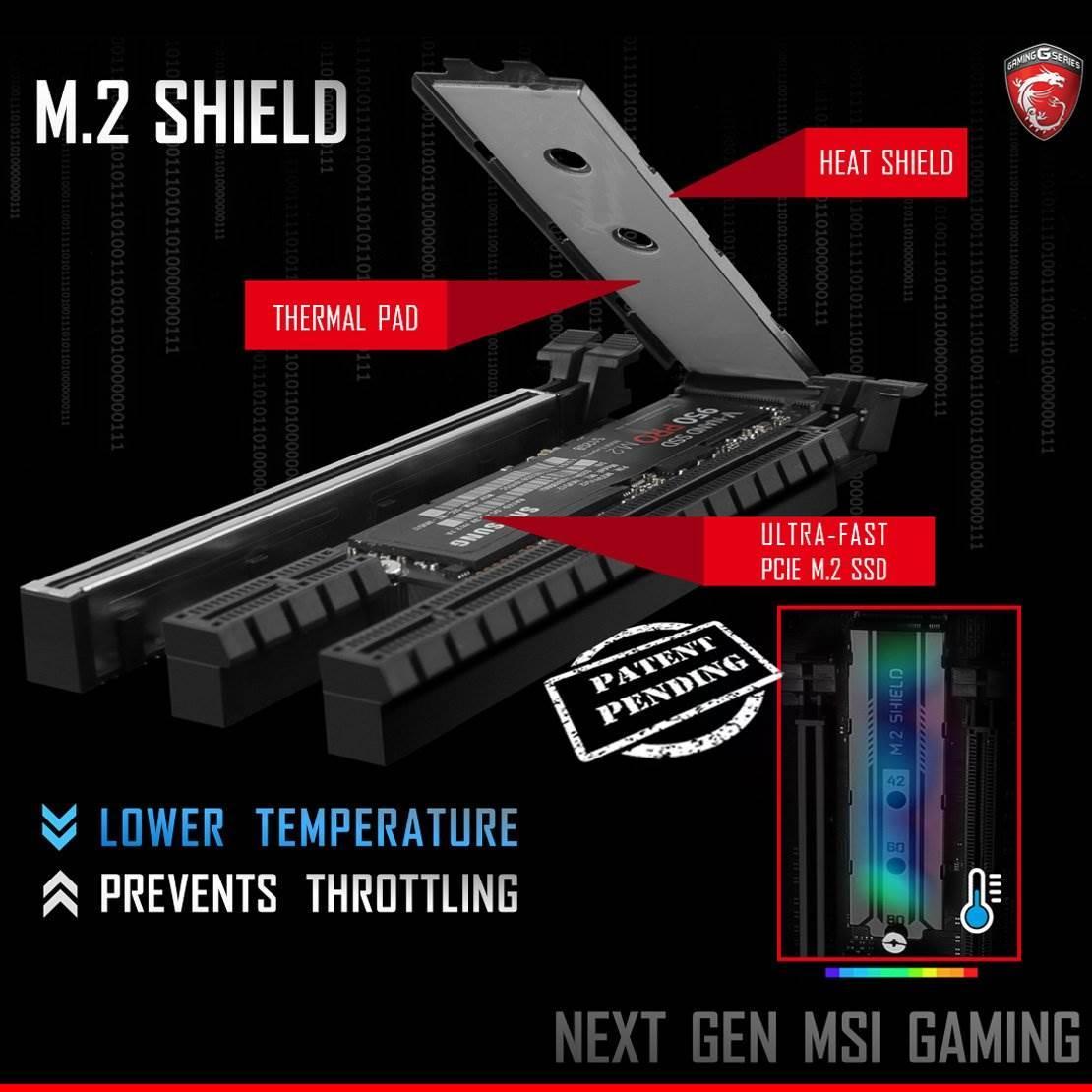 MSI SSD'ler için tasarladığı yeni soğutma çözümünü duyurdu