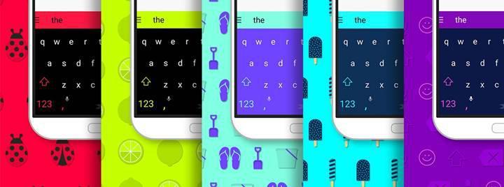 SwiftKey'in Android ve iOS'taki tüm temaları artık ücretsiz