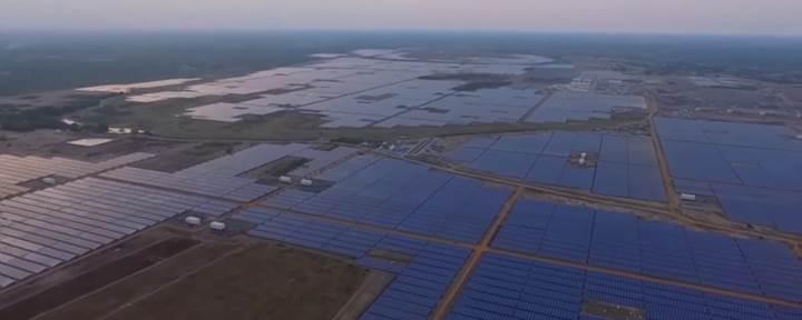 Dünyanın en büyük güneş enerjisi tesisi