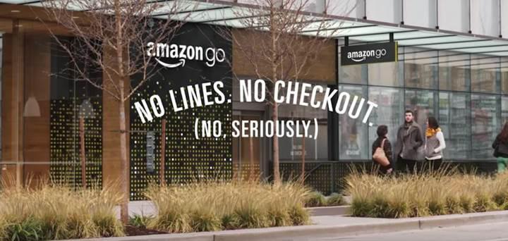 Amazon Go ile markette kasa sırası beklemeyin!