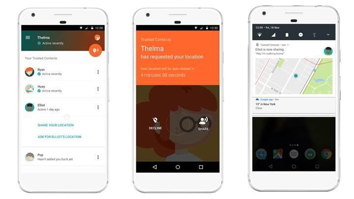 Google'dan Android için yeni kişisel güvenlik uygulaması: Güvenilir Kişiler