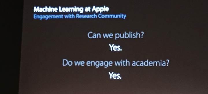 Apple sürpriz şekilde yapay zeka araştırmalarını yayınlamaya karar verdi