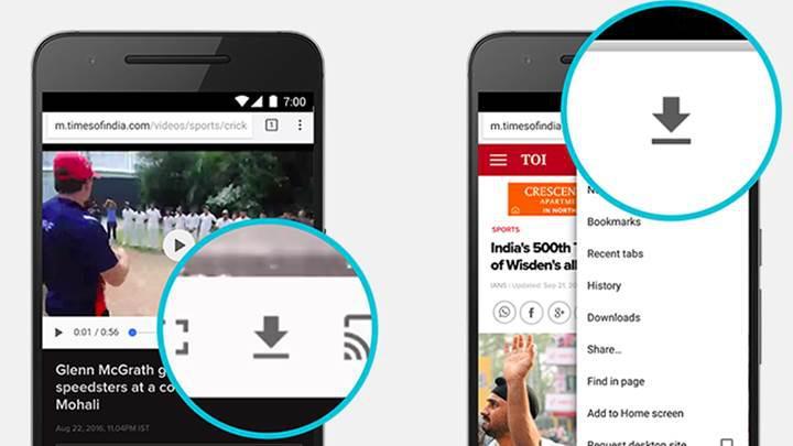Chrome'un Android uygulamasına çevrim dışı içerik görüntüleme özelliği geldi
