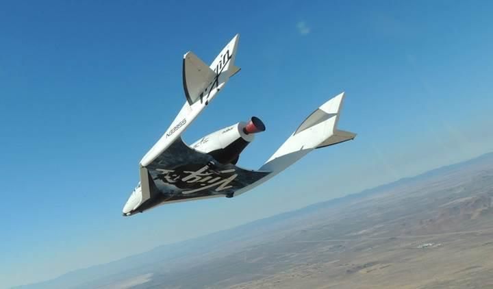 Uzaya turist taşıyacak ikinci uzay aracı ilk uçuşunu yaptı: SpaceShipTwo