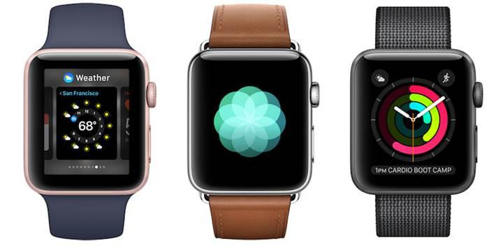 Apple Watch üzerinden Apple Store