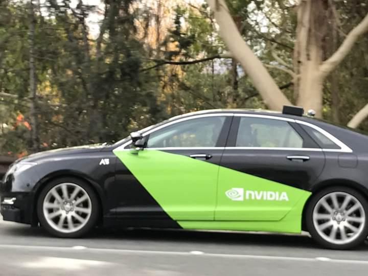 NVIDIA, şehirdeki yollarda sürücüsüz araç testleri yapıyor