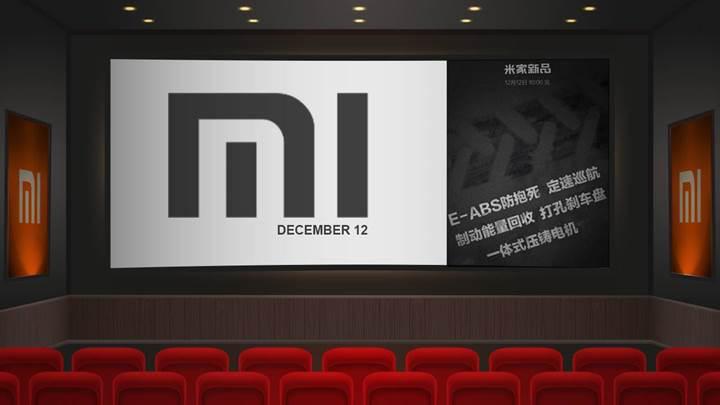 Xiaomi 12 Aralık'ta yeni elektrikli aracını tanıtacak