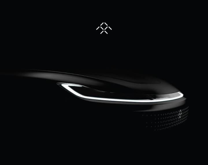 Faraday Future'dan resmi lansman öncesi teaser görseller gelmeye devam ediyor