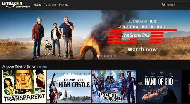 Netflix'ten sonra Amazon Prime Video da artık Türkiye'de