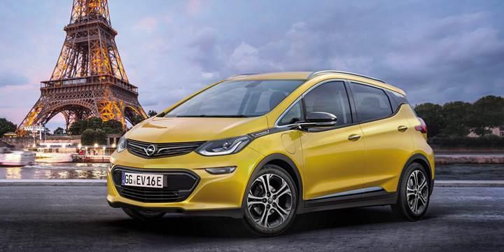 Opel'in elektrikli aracı 2017 yılında satışa çıkıyor
