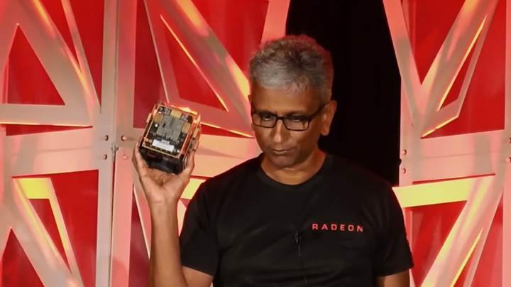 AMD Vega Cube: 100 TFLOPS'luk canavar ile tanışın