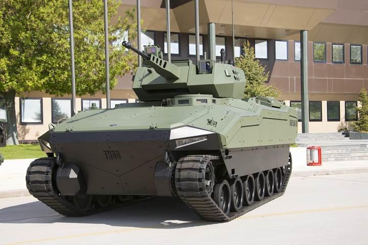 Yeni nesil hafif zırhlı paletli araçlara yerli motor geliyor