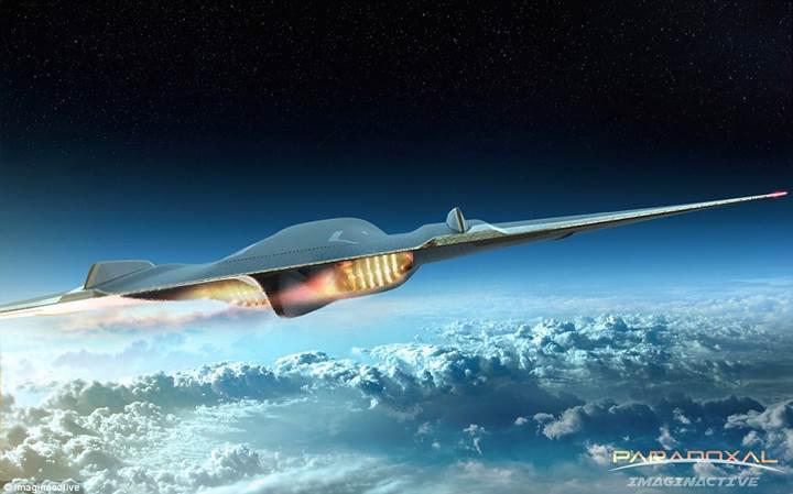 Uzay sınırında uçan jet, sesten üç kat hızlı uçak yolculuğu sunacak