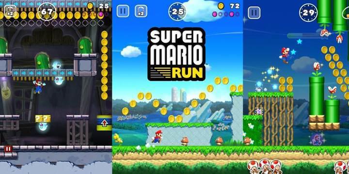 Super Mario Run ilk gün 4 milyon dolar elde etti