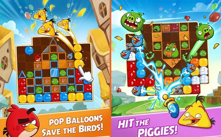 Angry Birds'ün yeni oyunu