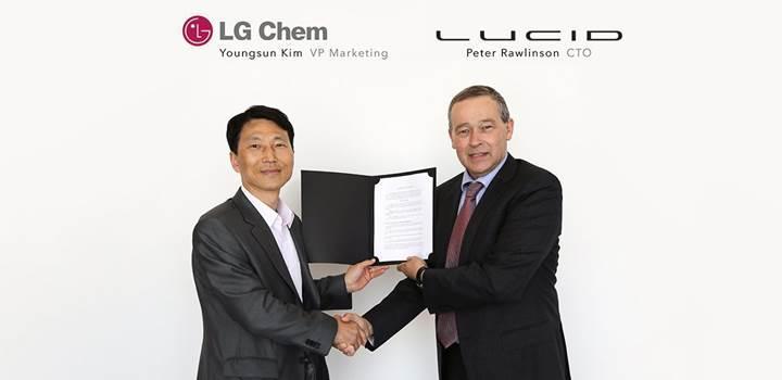 643km menzile sahip elektrikli aracın pilleri Samsung ile LG'den