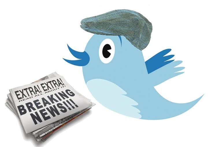 Twitter artık son dakika haberlerini bildirim olarak gönderecek