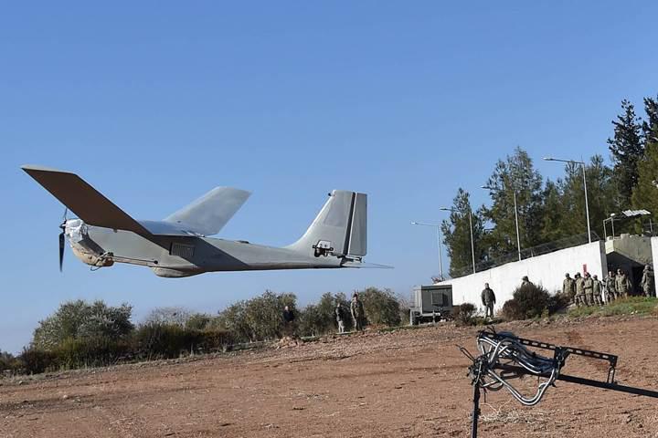 TSK, Suriye'de kullanılan RQ-20 Puma İHA'dan fotoğraf paylaştı