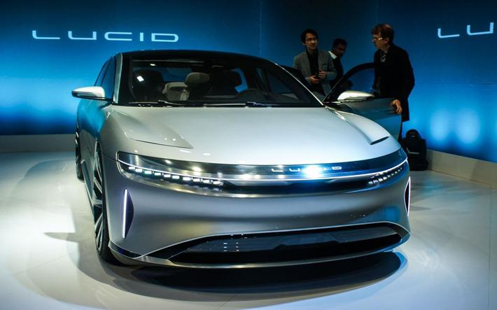Lucid Motors, 643 km menzile sahip lüks elektrikli otomobilini tanıttı