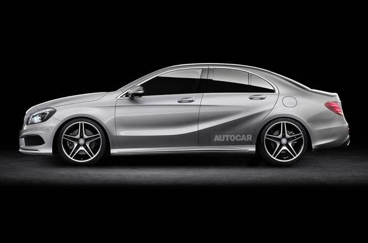 Mercedes-Benz A serisi, sedan bir versiyona kavuşabilir