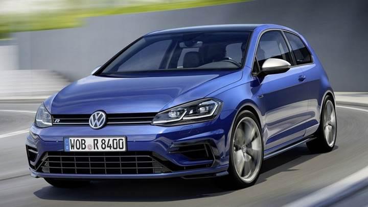 Makyajlanan yeni Volkswagen Golf R artık daha güçlü