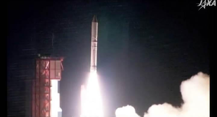 Japonya'nın yeni nesil mini roketi Epsilon-2 ilk kez fırlatıldı: İşte o anlar (VİDEO)